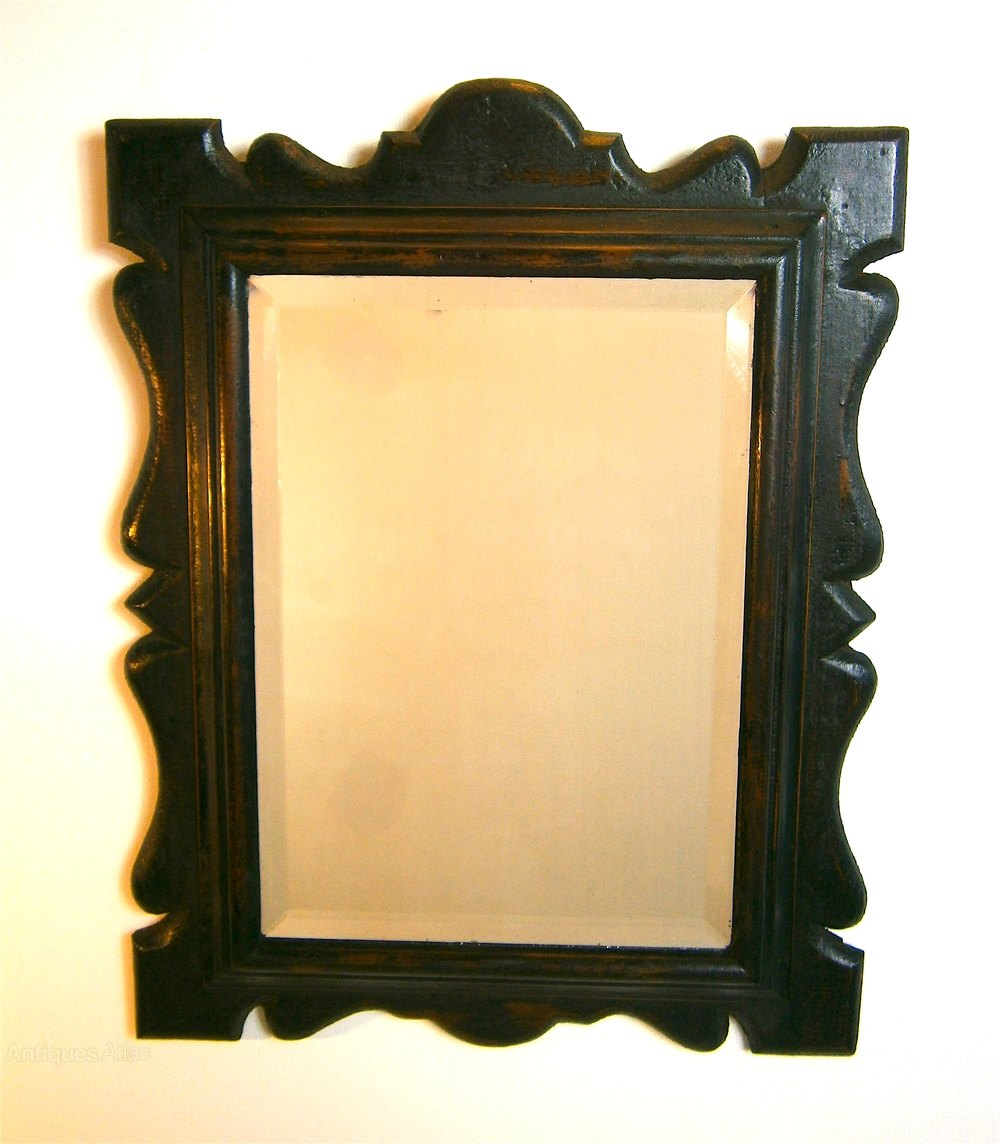 Antiques atlas victorian wall mirror original blistered for Victorian mirror