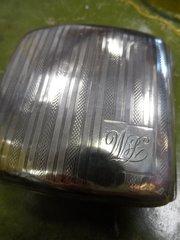 00df9cb09d8c Antiques Atlas - Art Deco Antique Silver Cigarette Cases