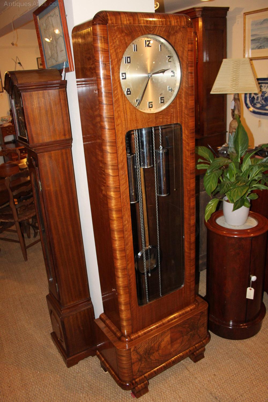 Antiques atlas art deco longcase clock - What is art deco ...