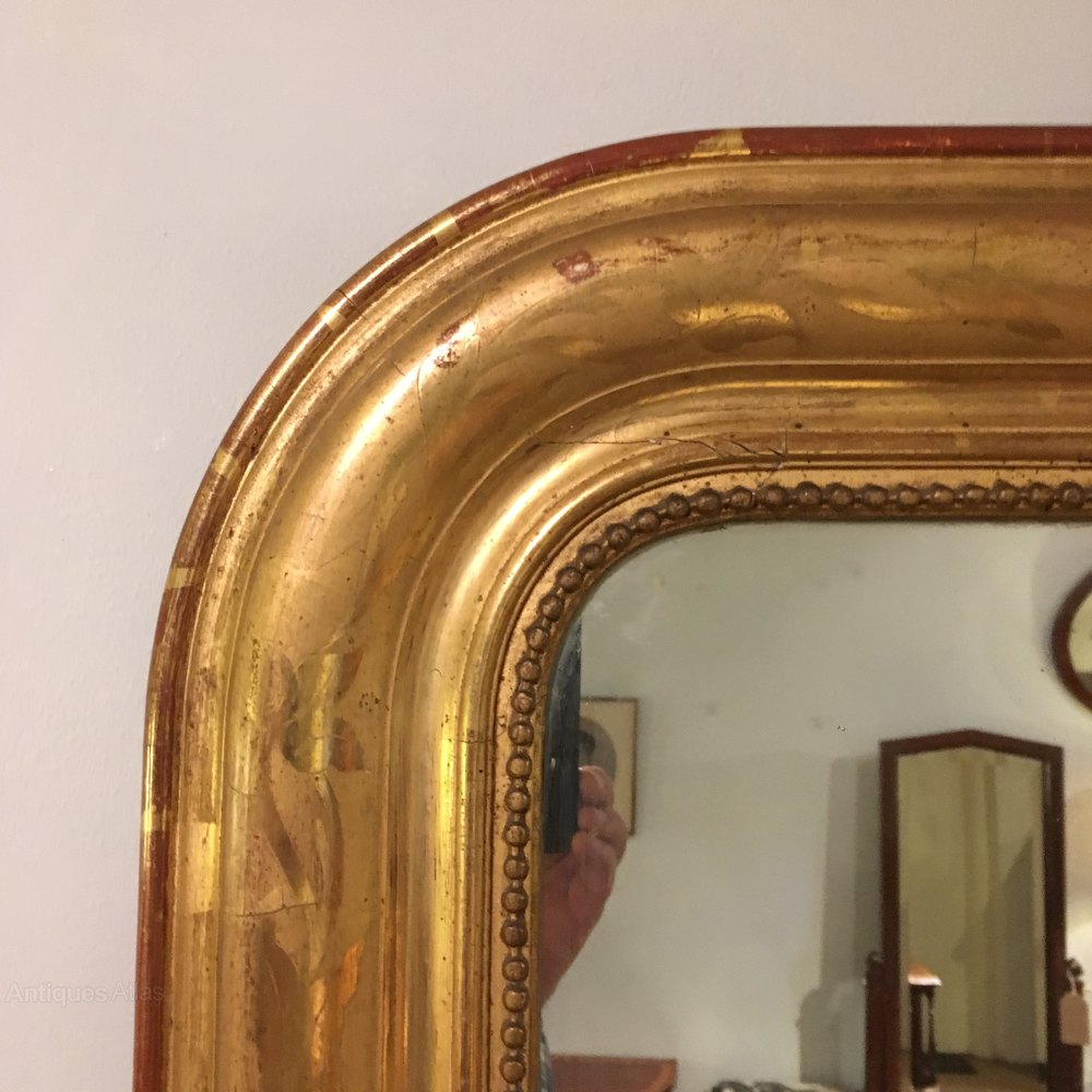 Antiques atlas antique gilt mirror for What is a gilt mirror