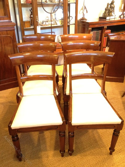 DINING CHAIRS MAHOGANY Antiques Atlas