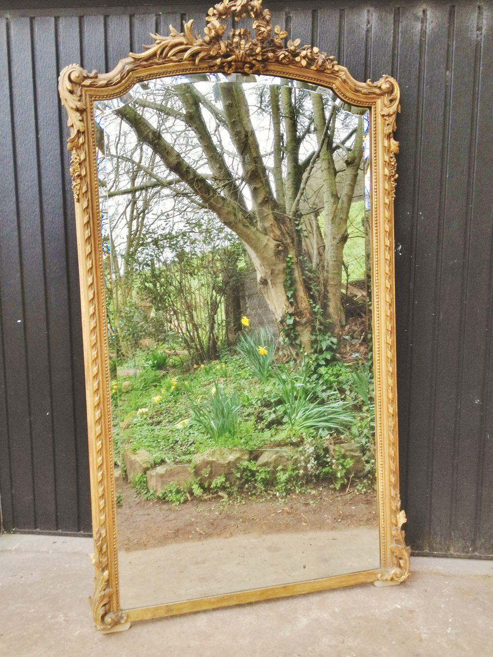 Antiques Atlas Gilt Mirror Large French