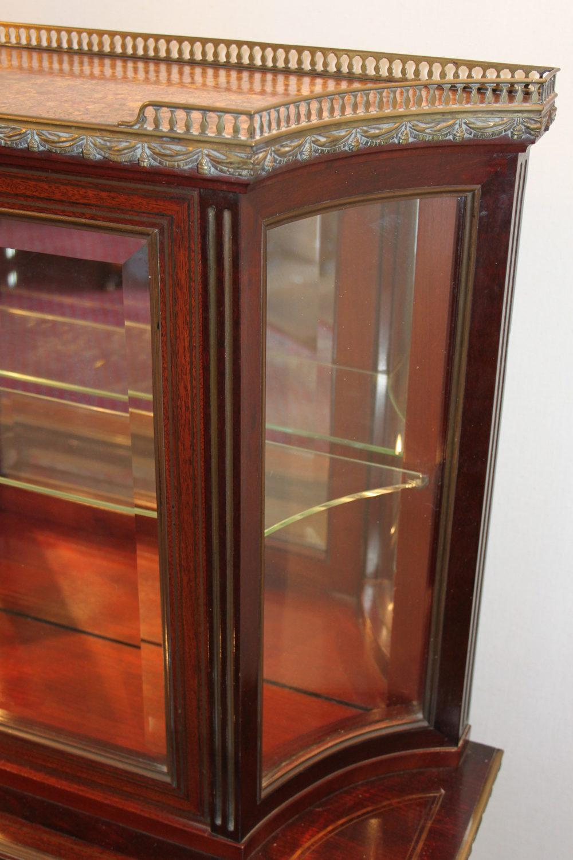 Mahogany Bijouterie Cabinet Amp Display Antiques Atlas