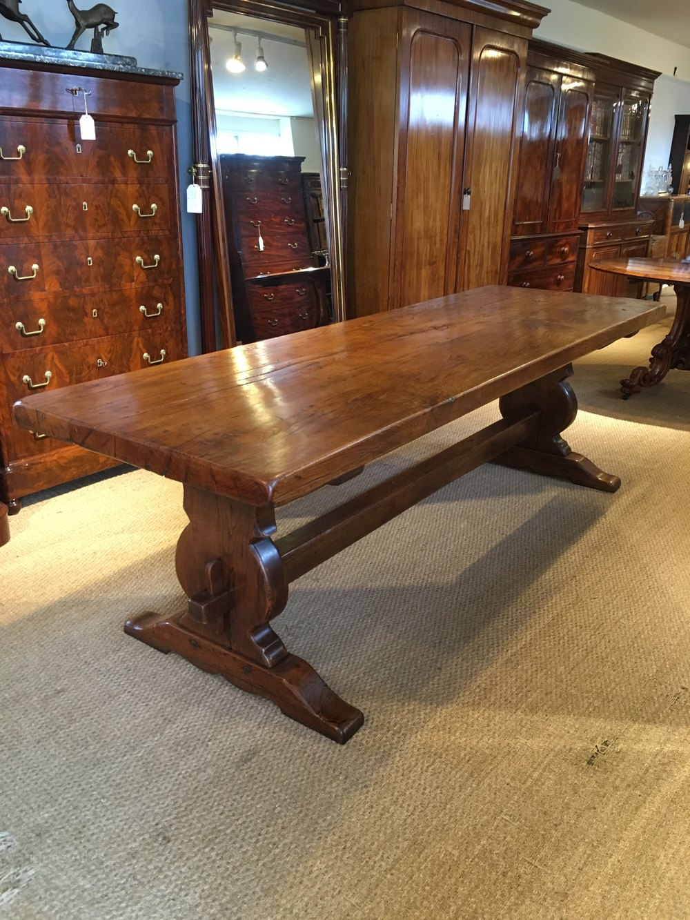 Oak Refectory Table Kitchen Table Dining Table Antiques Atlas