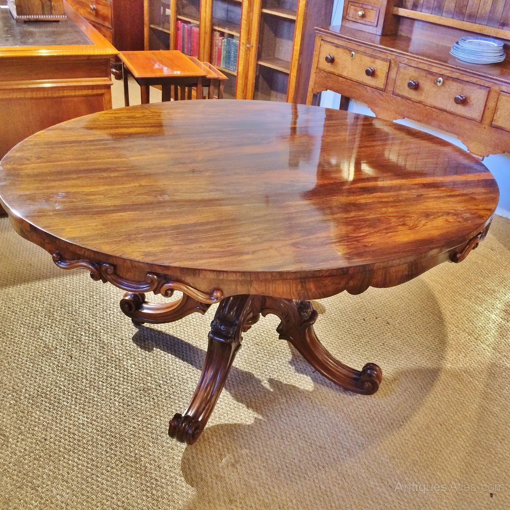 ROSEWOOD DINING TABLE Antiques Atlas
