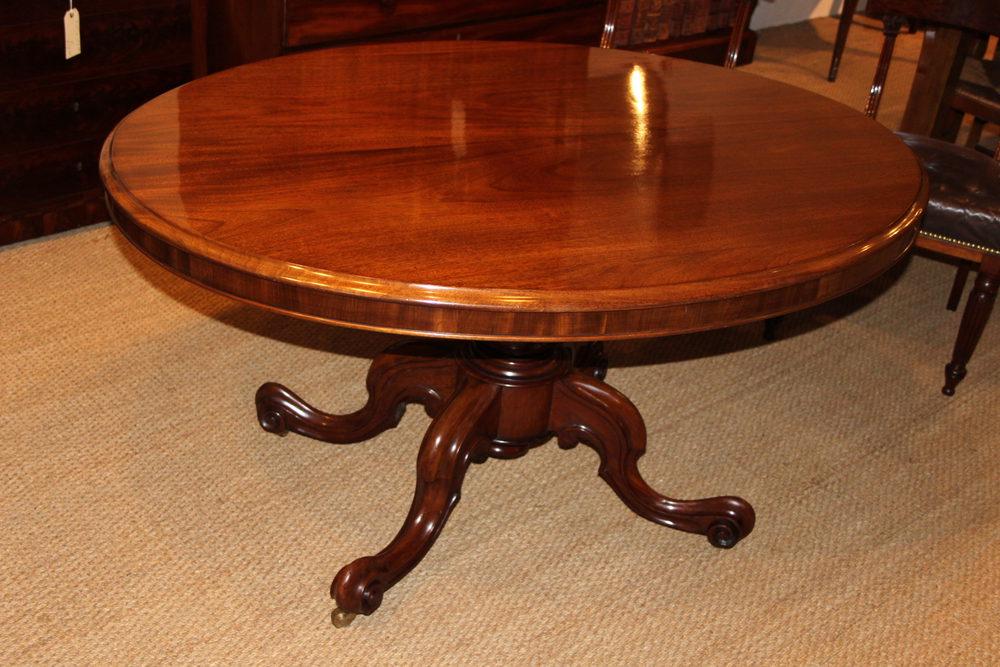Victorian Mahogany Loo Table Antiques Atlas