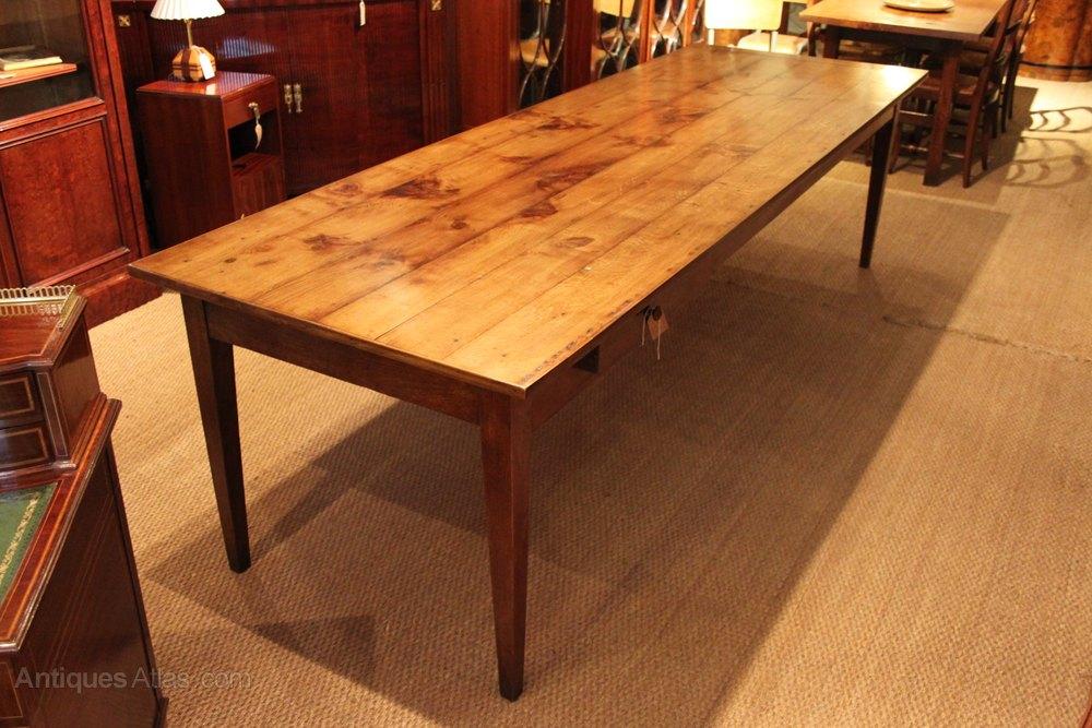 Oak Farmhouse Table Dining Table Antiques Atlas