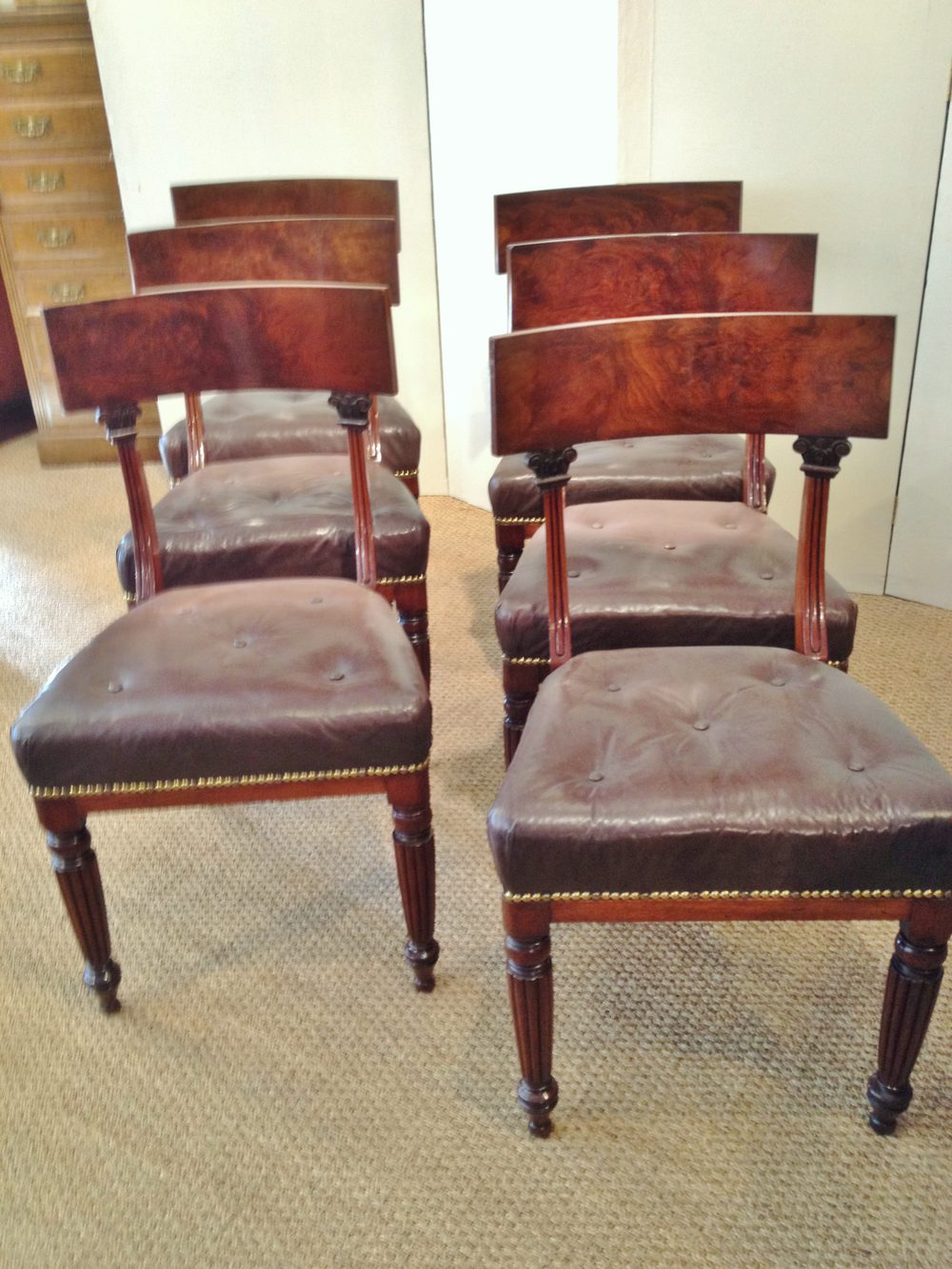 Mahogany Dining Chairs Antiques Atlas