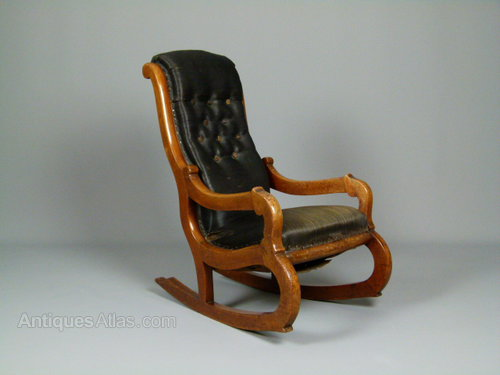 Horse Hair Rocking Chair