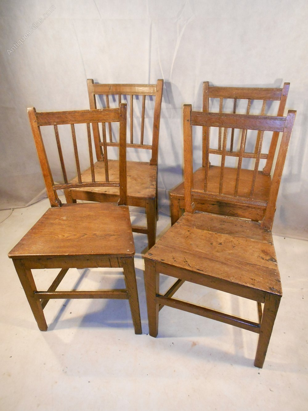 Antique Georgian Vernacular Country Chairs ... - Antique Georgian Vernacular Country Chairs - Antiques Atlas