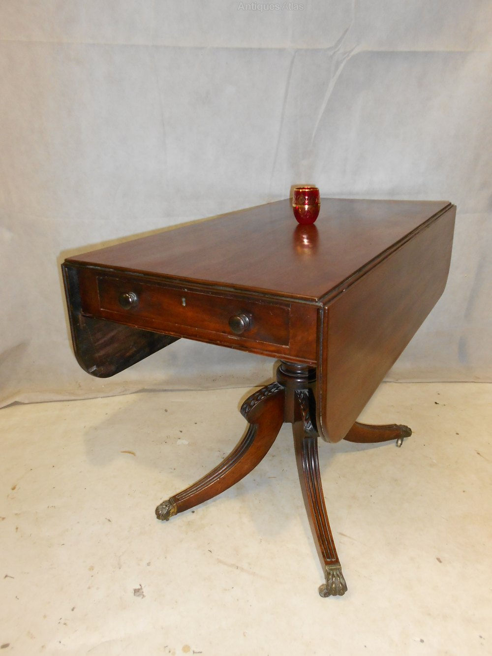 Antique regency sofa table c1811 20 antiques atlas for Sofa table antique