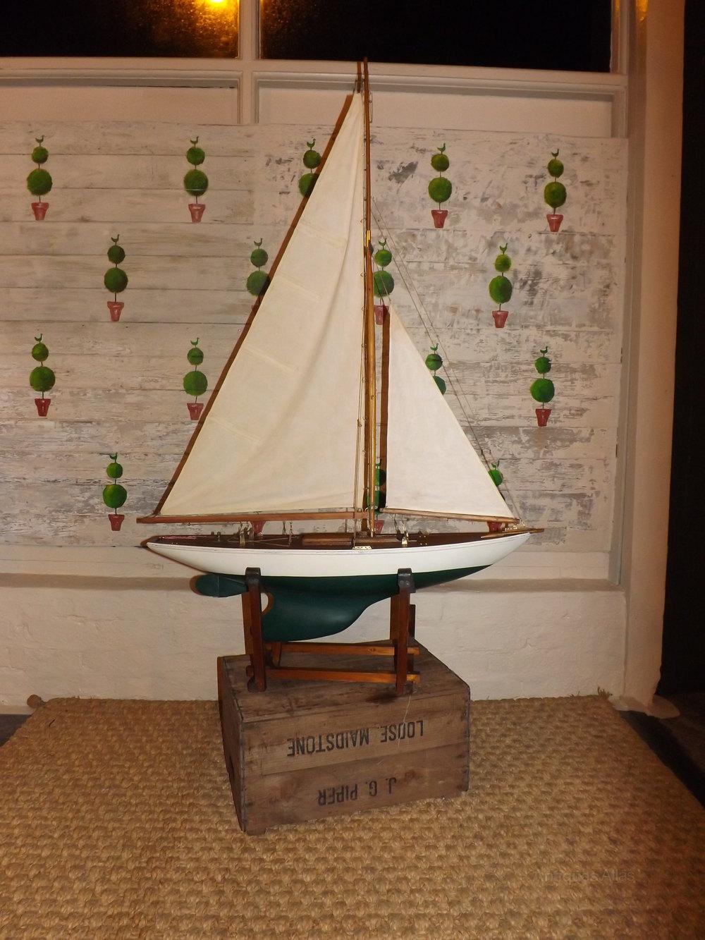 vintage pond yacht plans jpg 422x640