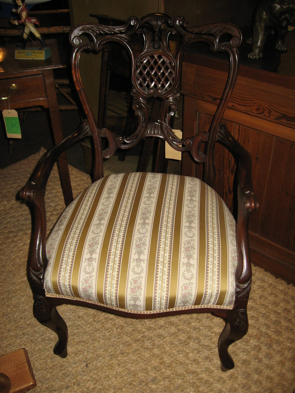 Edwardian Ladies Mahogany Bedroom Chair Antiques Atlas