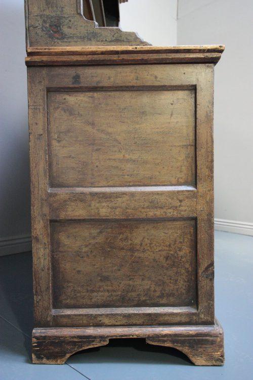 18th Century Antique Painted Pine Welsh Dresser