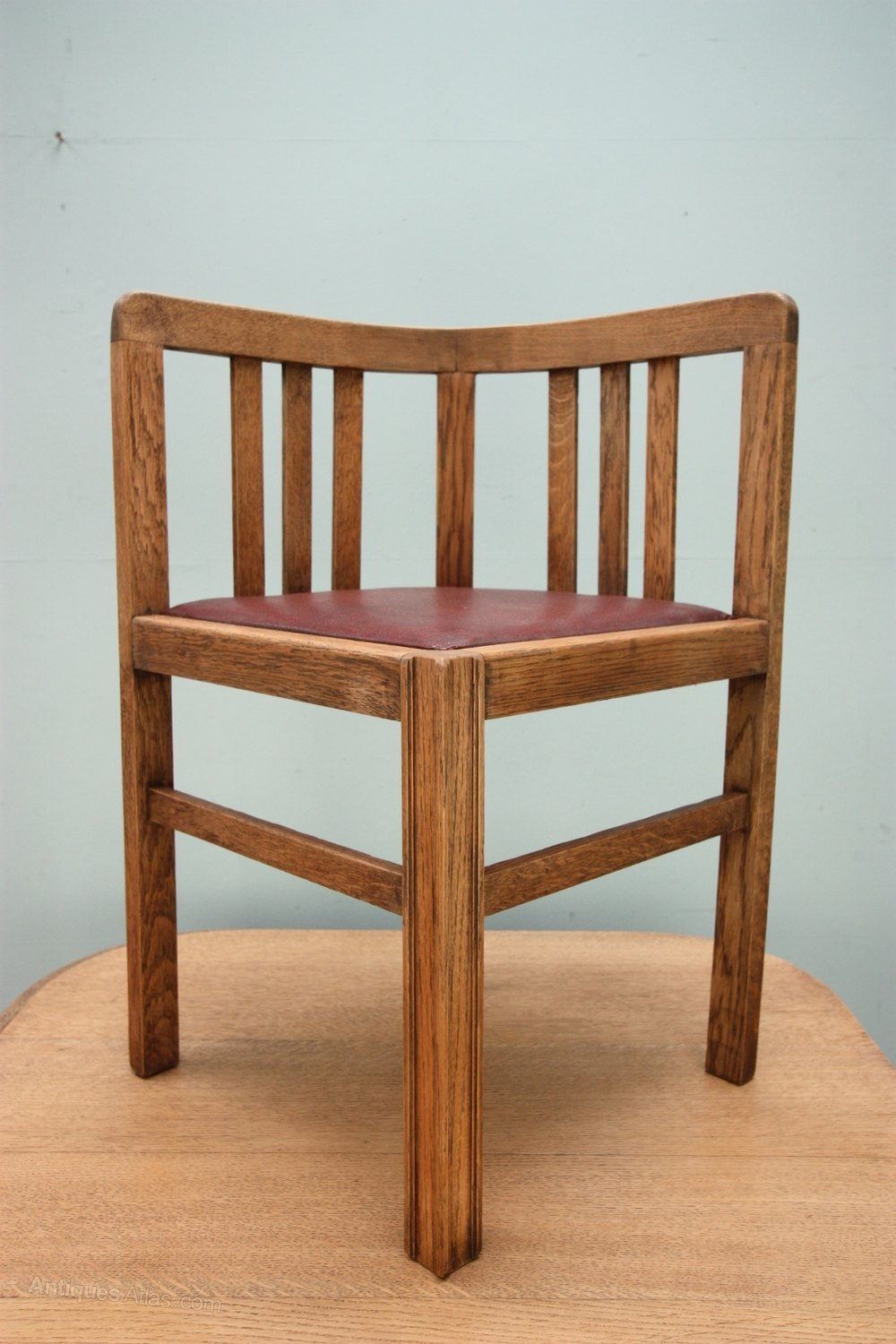 1920s Oak Dining Table amp Four Chairs Antiques Atlas