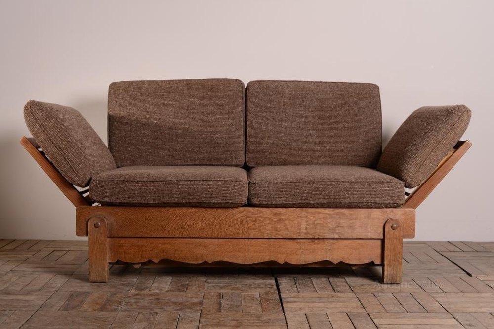 1930 39 s heals oak bed settee antiques atlas for Antikes sofa gebraucht