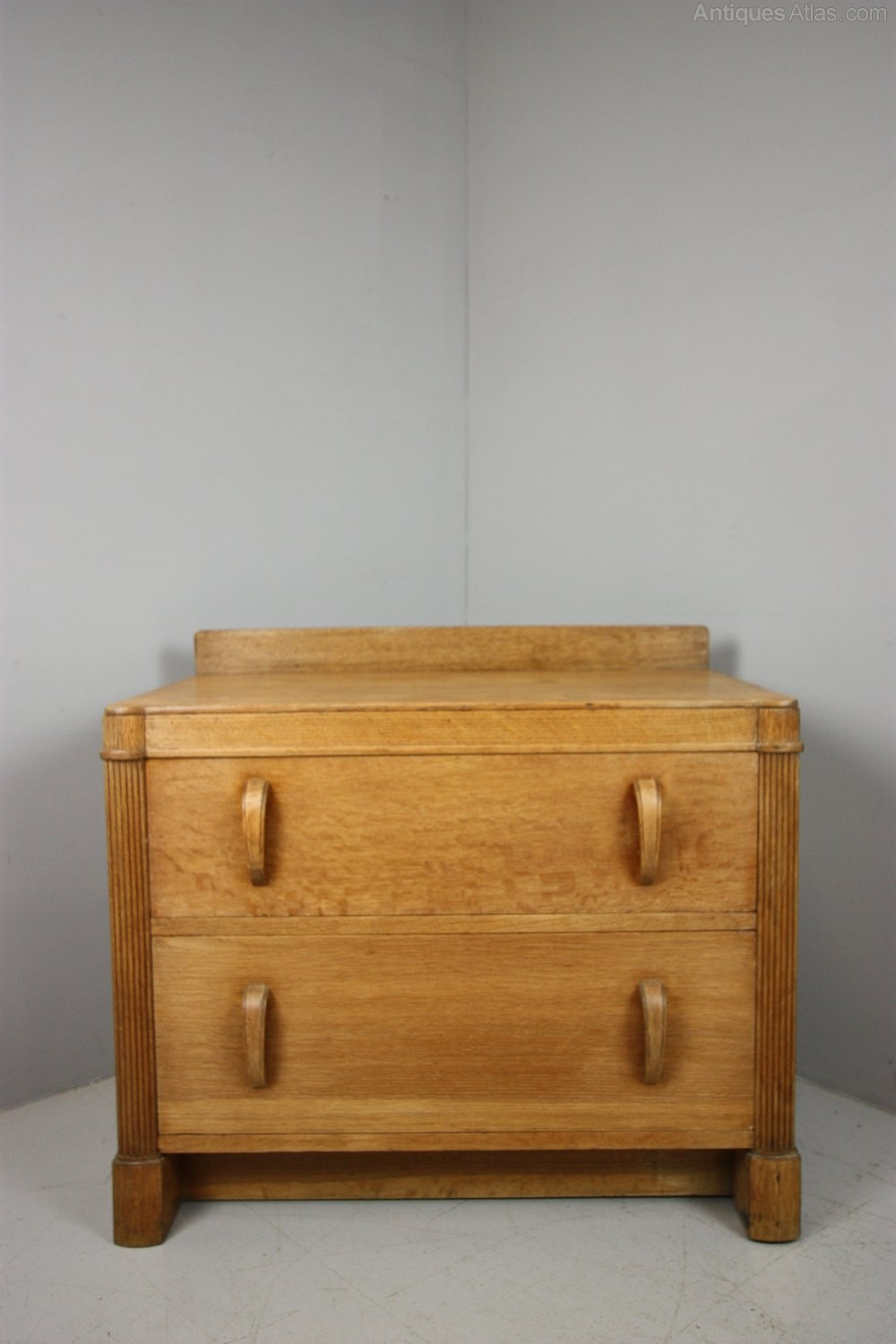 1930 S Heals Odeon Style Oak Chest Antiques Atlas