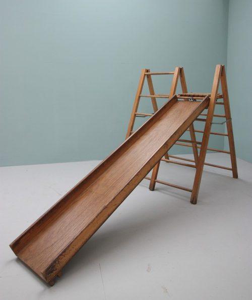 1950's Childs Indoor Climbing Frame & Slide