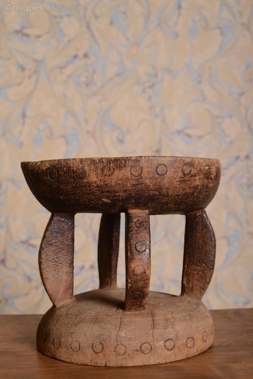 Antiques Atlas 1950 S Decorative African Stool