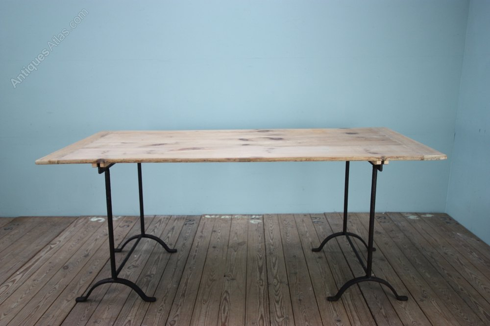 Delightful Antique Trestle Tables ...