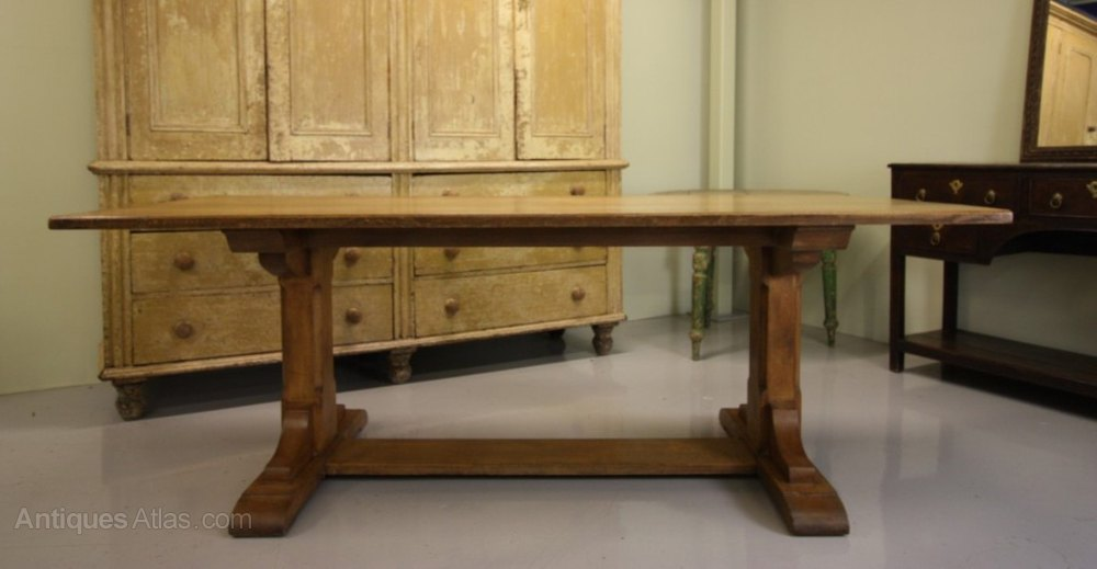 19th Century Antique Oak Dining Table By Heals Antiques Atlas