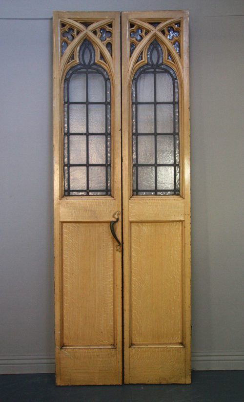Antiques Atlas - Amazing Set Of Four Gothic Antique Glazed Doors.