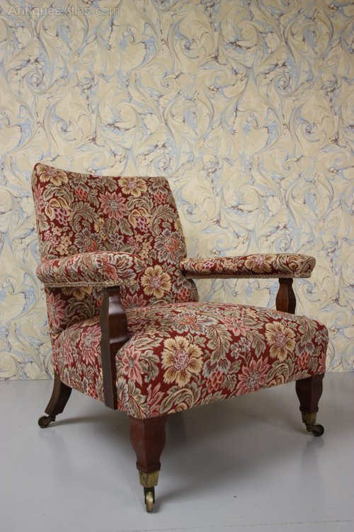 Antique William Morris Armchair By George Jack Antiques