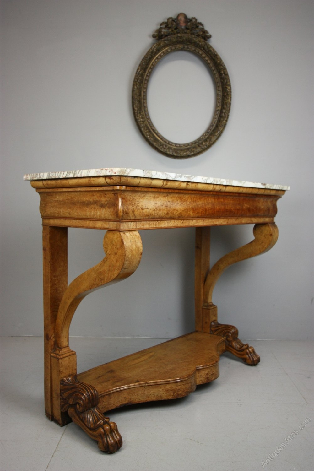 Beautiful english antique console table antiques atlas for Sofa table antique