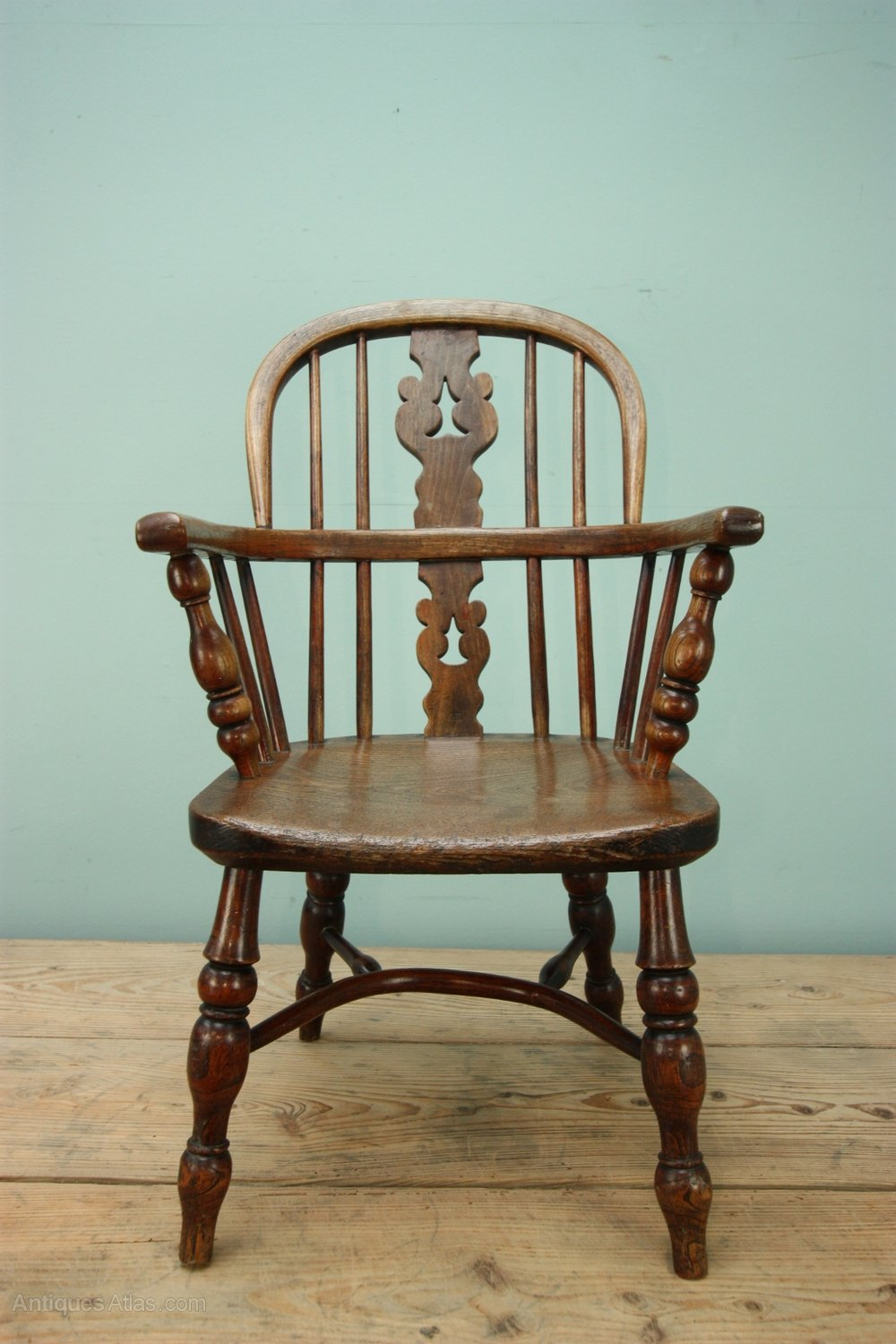 Antique Country Childs Chair ... - Childs Antique Windsor Chair. - Antiques Atlas