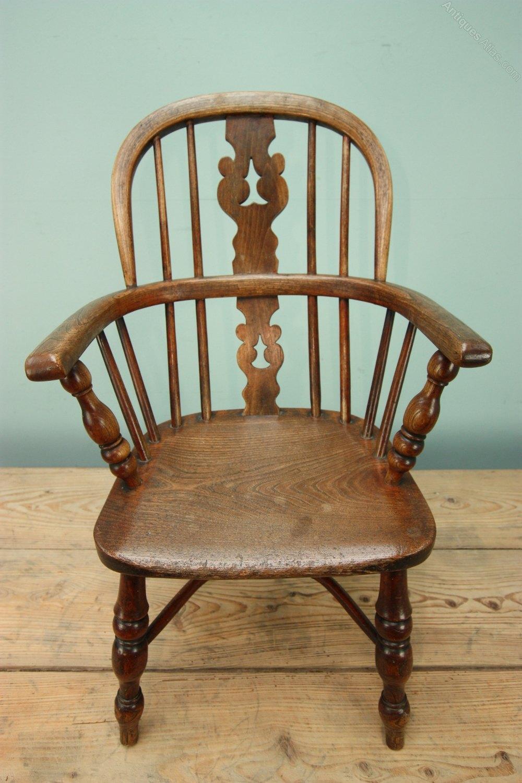 Childs Antique Windsor Chair Antiques Atlas