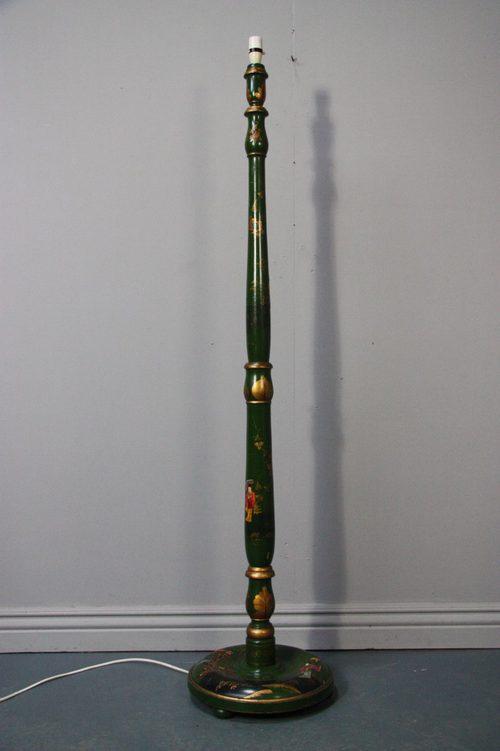 Antiques Atlas Edwardian Antique Chinoiserie Standard Lamp