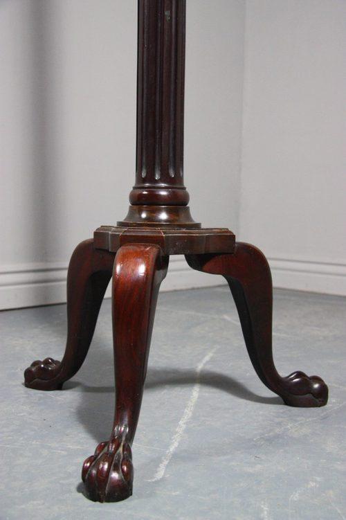 Antiques atlas edwardian antique mahogany standard lamp for Antique mahogany floor lamp