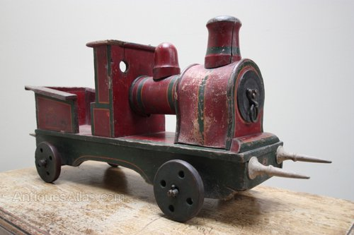 Old Toy Trains : Antiques atlas edwardian english antique toy train