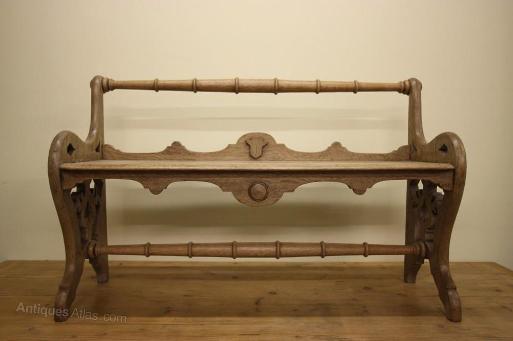 english antique oak hall bench antiques atlas