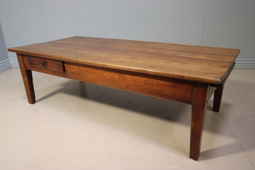 French antique cherry wood coffee table antiques atlas Cherry wood coffee tables