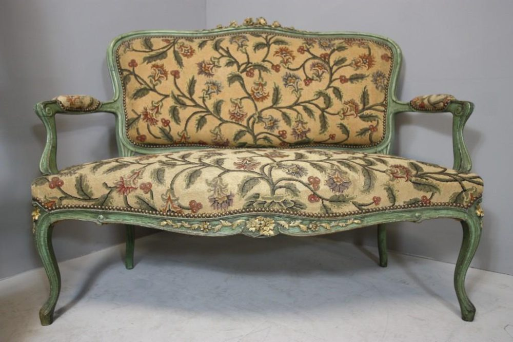French Antique Open Sofa Settee Antiques Atlas