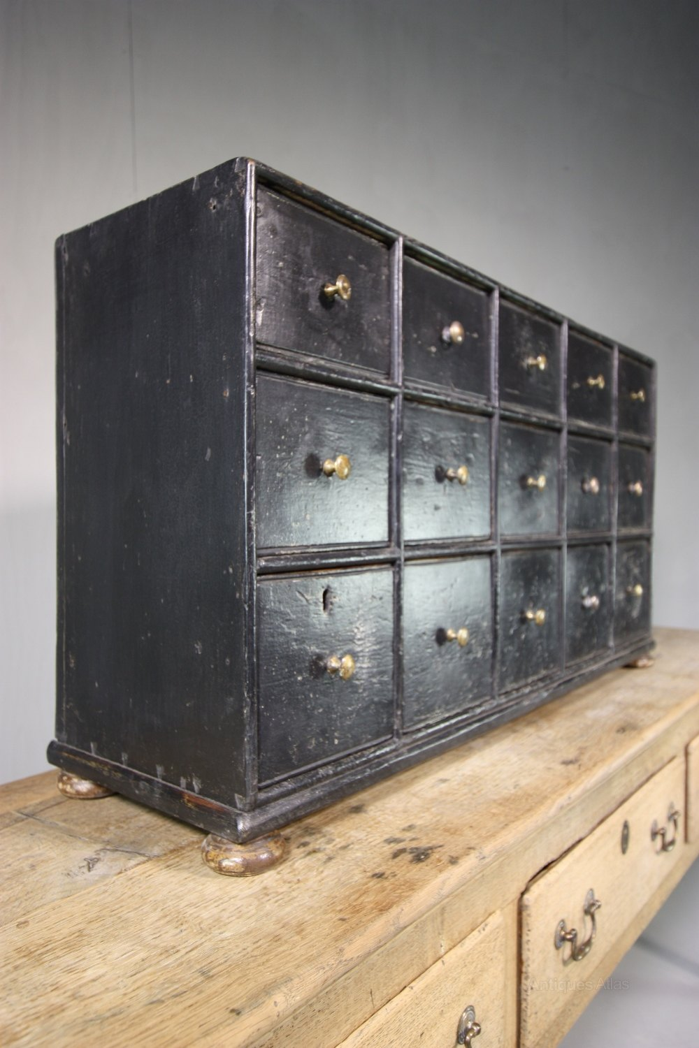 Antiques Atlas Georgian Antique Apothecary Chest Of Drawers