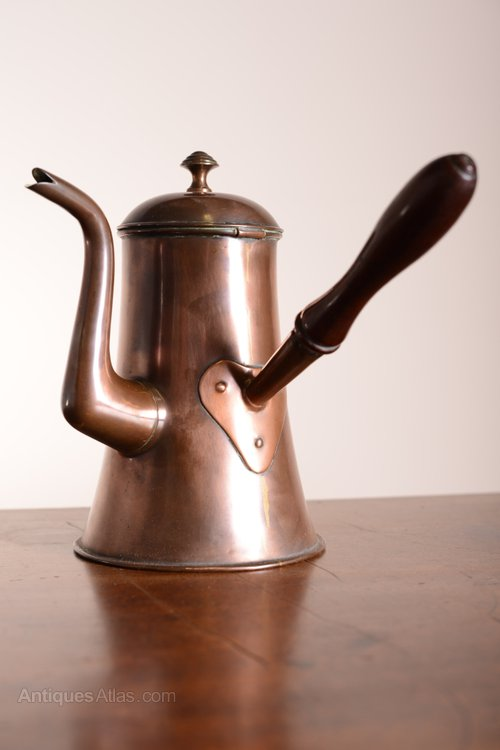 dating antique copper kettles Antique copper chocolate pot with wooden handle | ebay.
