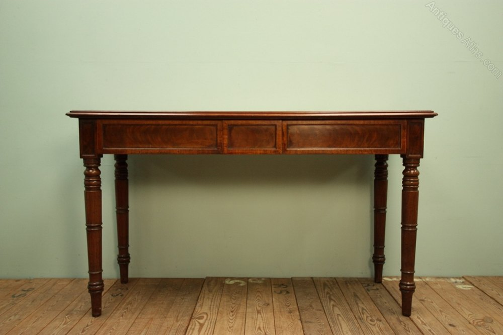 Georgian Antique Mahogany Console Table Antiques Atlas