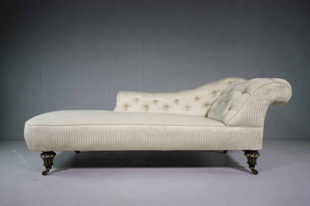 gillows upholstered antique chaise longue antiques atlas. Black Bedroom Furniture Sets. Home Design Ideas