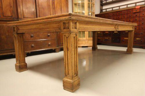 Impressive antique oak dining table seats 12 antiques atlas