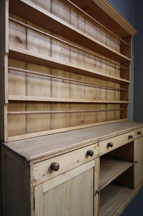 Open Kitchen Storage Cupboards
