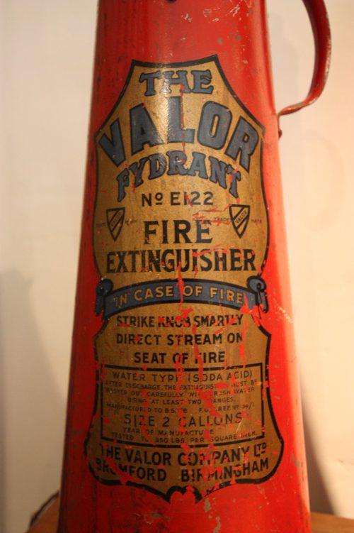Antiques Atlas Original 1950s Fire Extinguisher Lamp