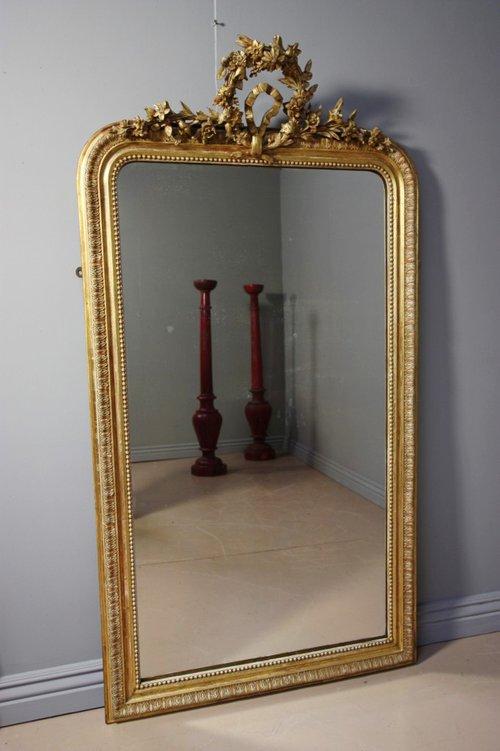Antiques Atlas Original Antique French Gilt Mirror