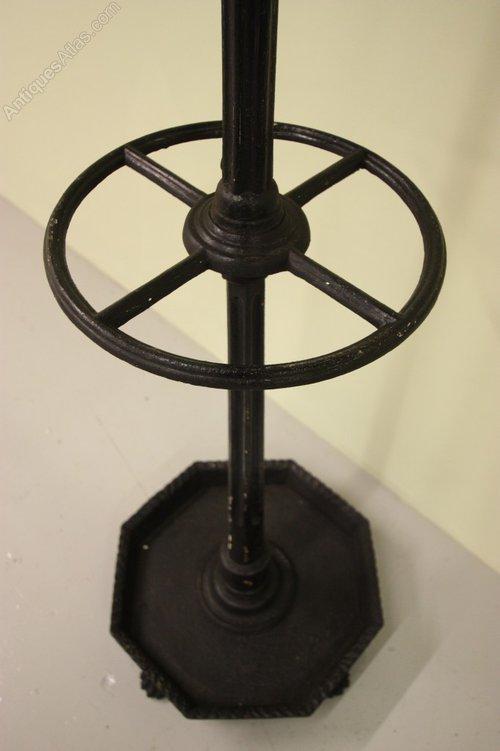 Regency Antique Cast Iron Hat Amp Coat Stand Antiques Atlas