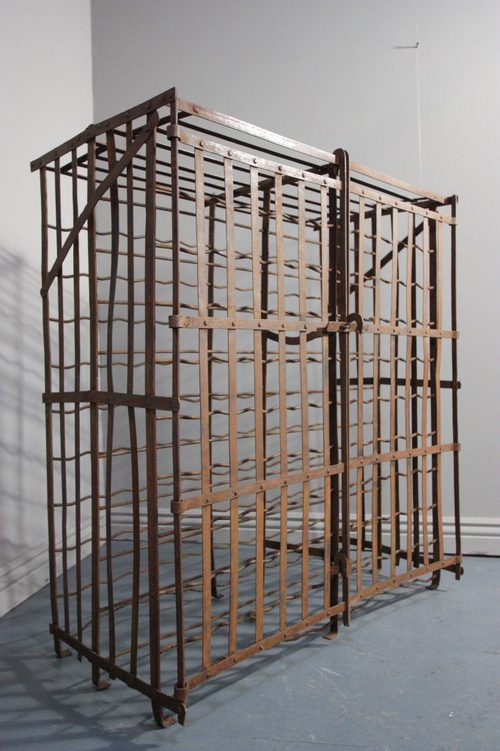Antiques Atlas Antique Wrought Iron Wine Cage Rack
