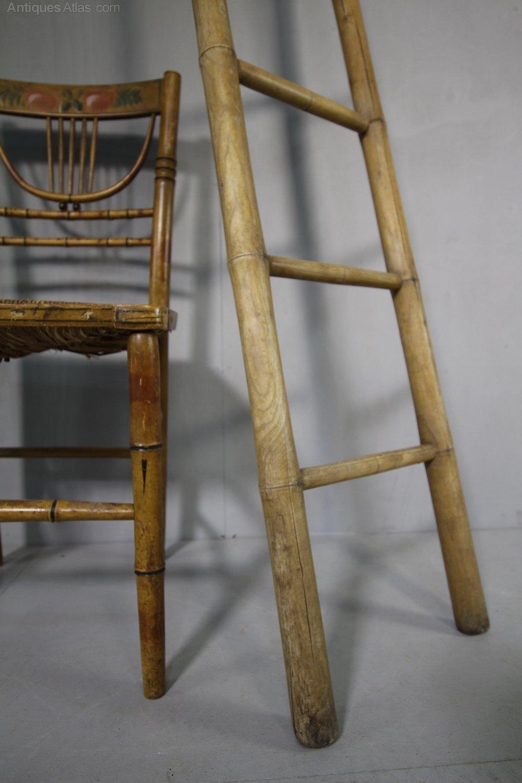 Regency Faux Bamboo Antique Ladders Antiques Atlas