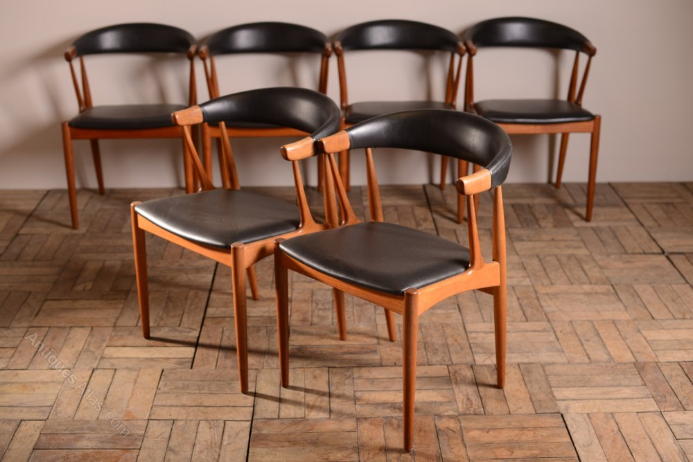 Antiques Atlas Set Of 6 Danish Dining Chairs Johannes