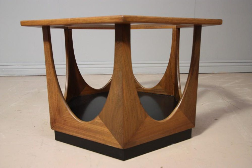 Antiques atlas vintage 1960 39 s octagonal coffee table for Octagon coffee table plans