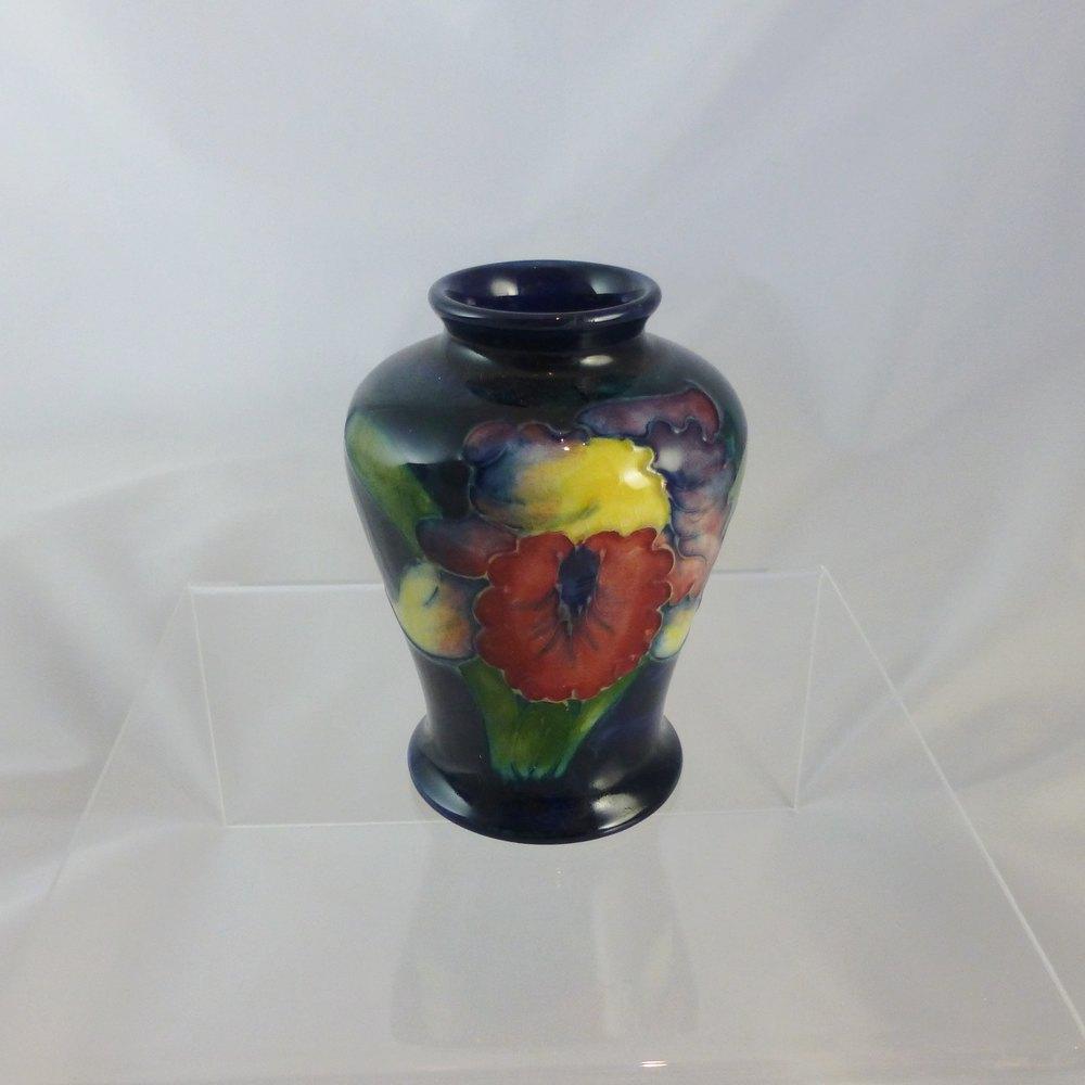 Antiques Atlas Moorcroft Miniature Vase Orchid C1940